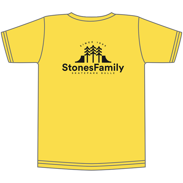 T-shirt SF 25th yellow