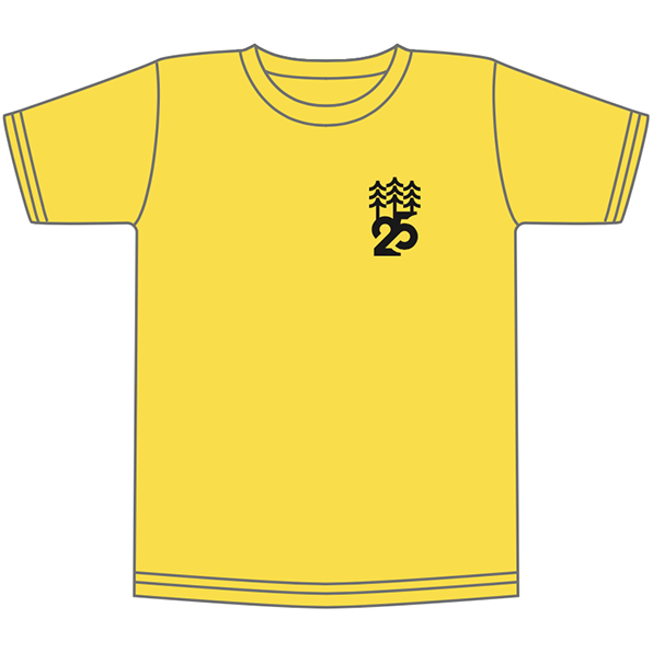T-shirt SF 25th yellow